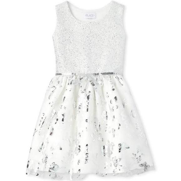 7/8 Sleeveless Tutu Pleated Dress, Simply White